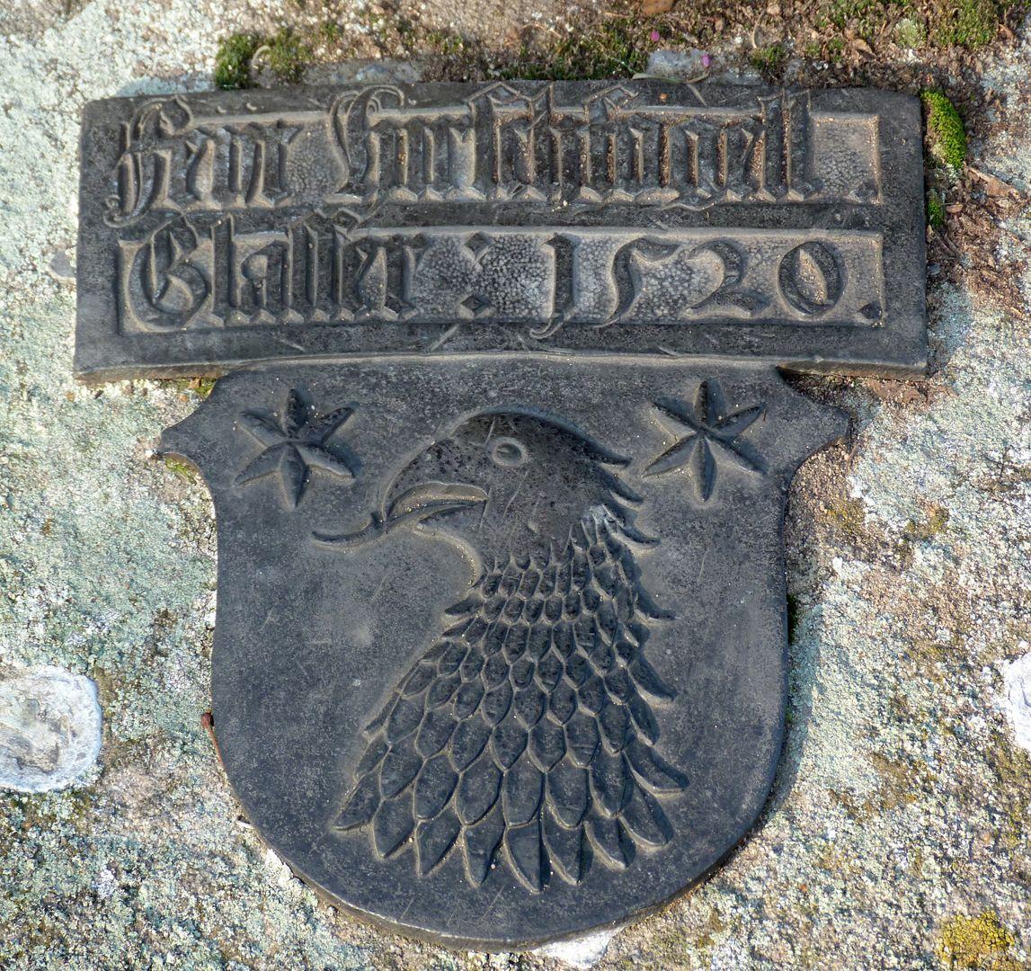 Hirsvogel Epitaph Coat of arms