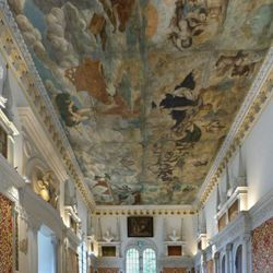 The fall of Phaethon, ceiling painting