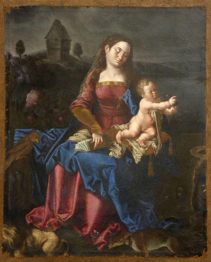 Madonna degli Animali Gesamtansicht
