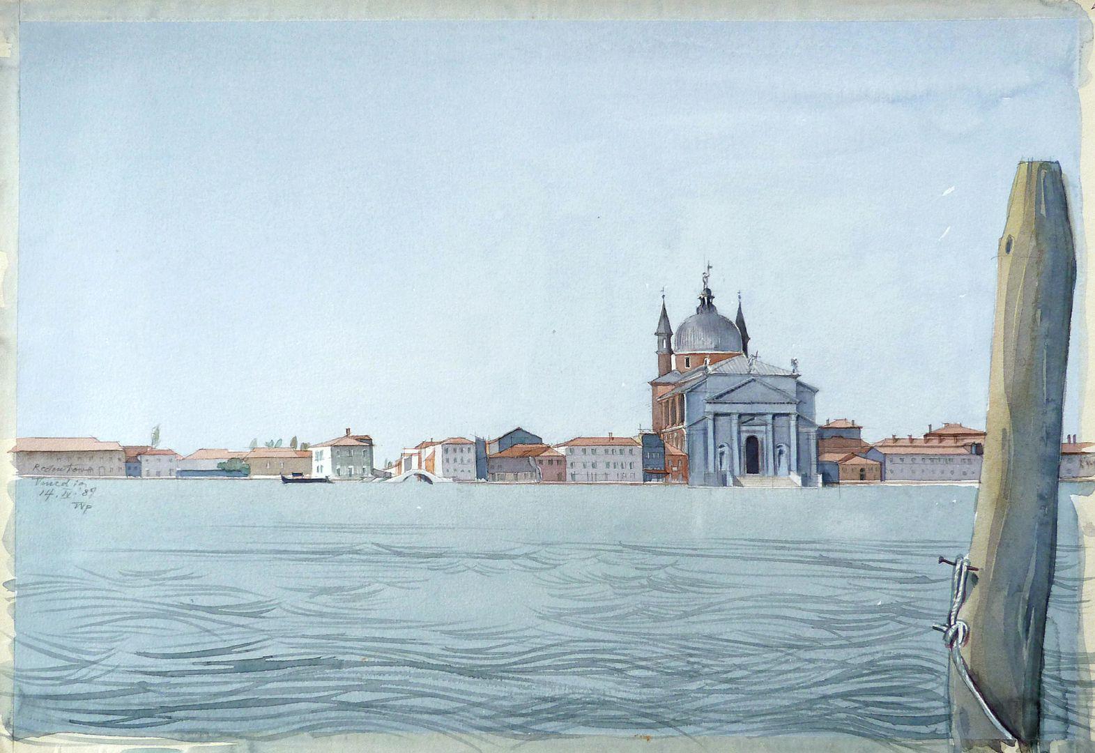 Il Redentore (Venice) Total view