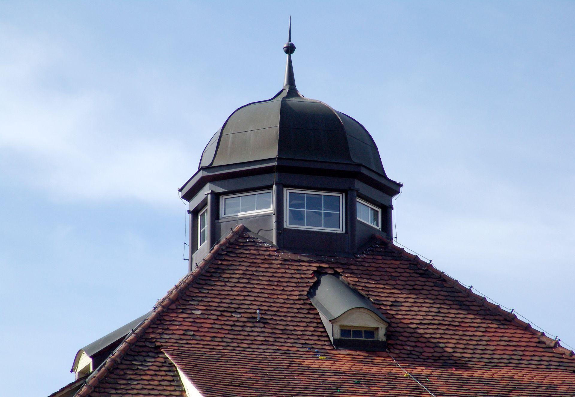 Residential Building, Campestraße 17 Roof lantern