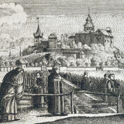 Prospect of the Johannes Felder near Nuremberg.