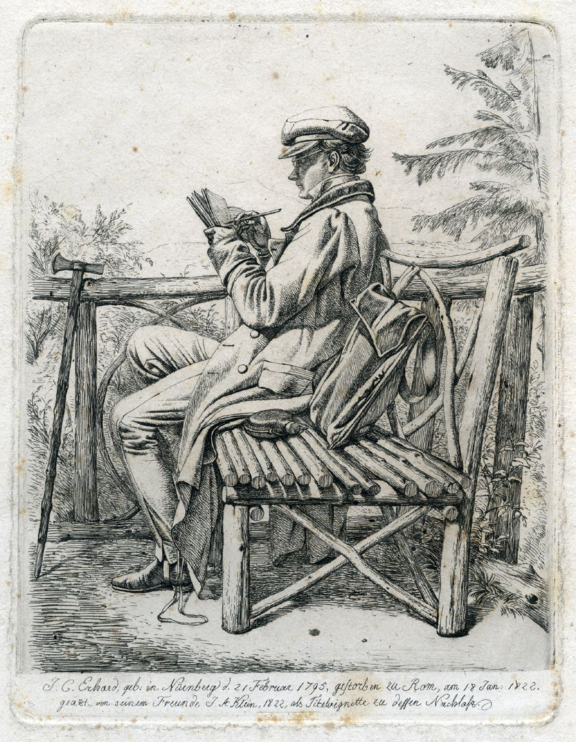 J.C. Erhard Portrait