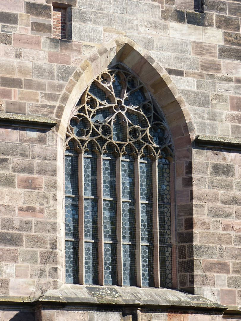 Draft for the new design of St. Jacob´s church in Nuremberg Tracery window by Heideloff according to the Cologne model