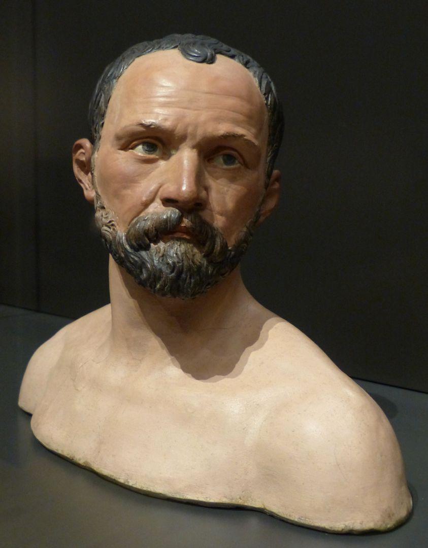 Self-portrait Face, front