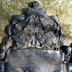 Tomb of Georg Wolff Pantzer and his spouse Anna Maria Elisabetha Ruland