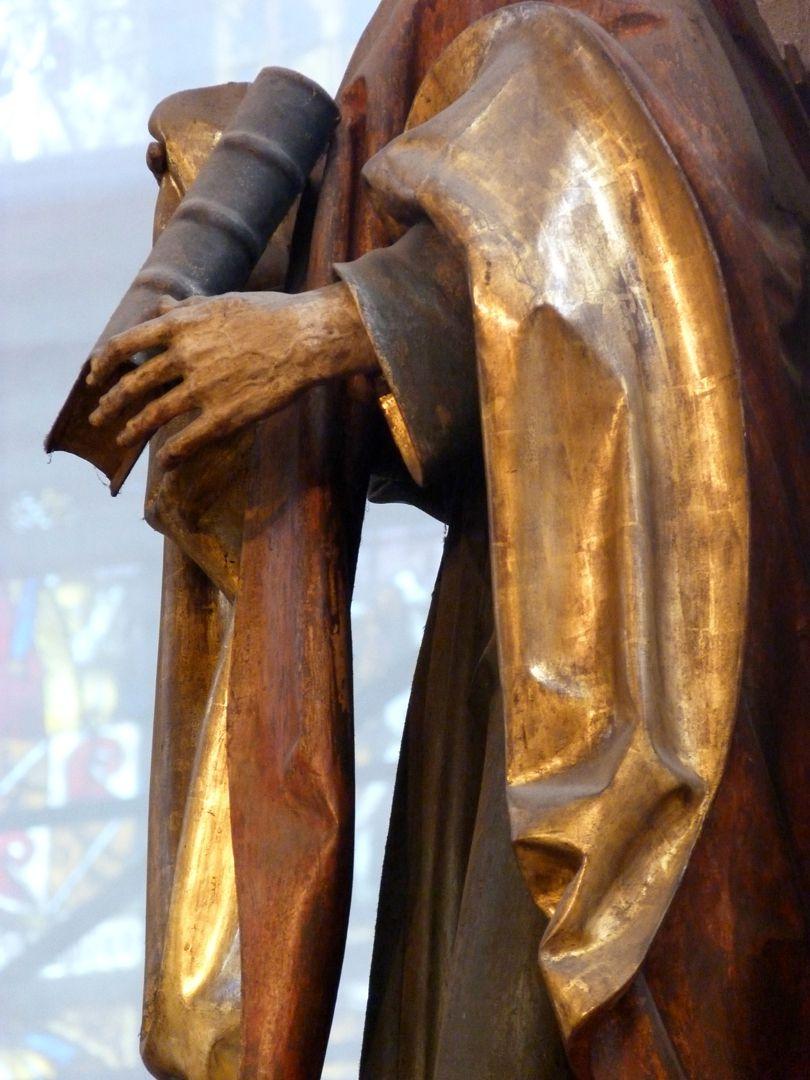 Assistant figures hl. Johannes, seitliche Ansicht, Detail
