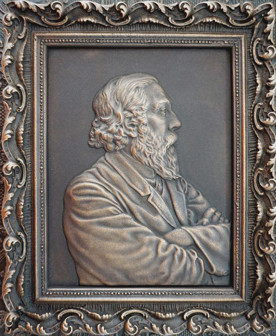 Paul Ritter Grabstätte Portraitbild von Paul Ritter