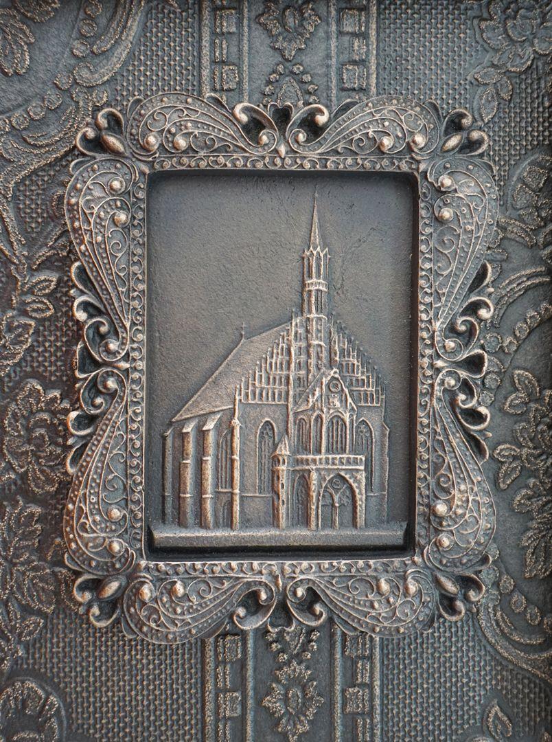 Paul Ritter Grabstätte Motiv: Frauenkirche in Nürnberg