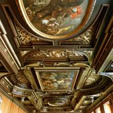Ceiling painting in the small hall of the City Hall