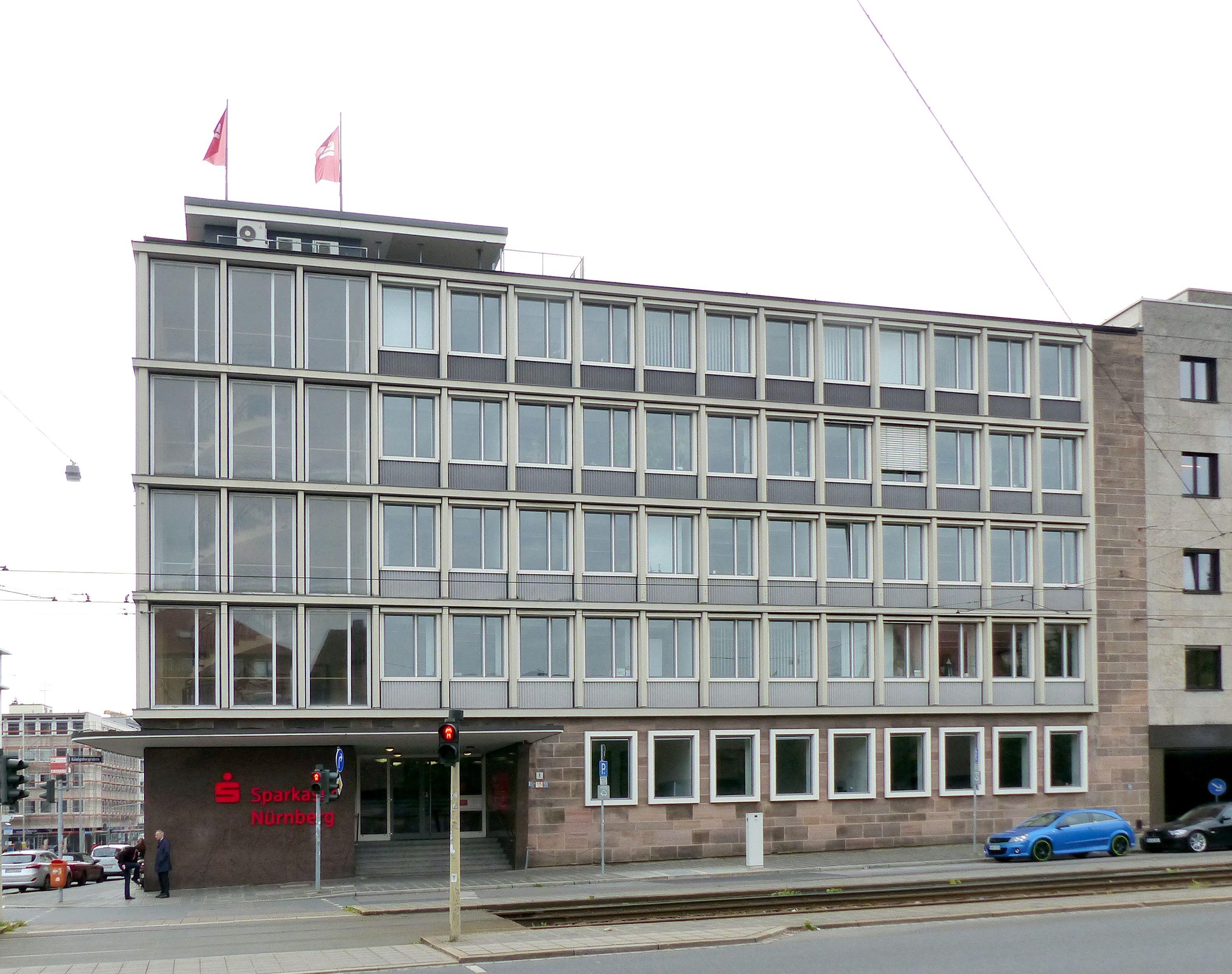 Administration building on Königstorgraben Front towards Königstorgraben