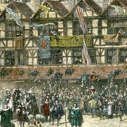 Market Square in Nuremberg with Emperor Leopold's Entry in 1658