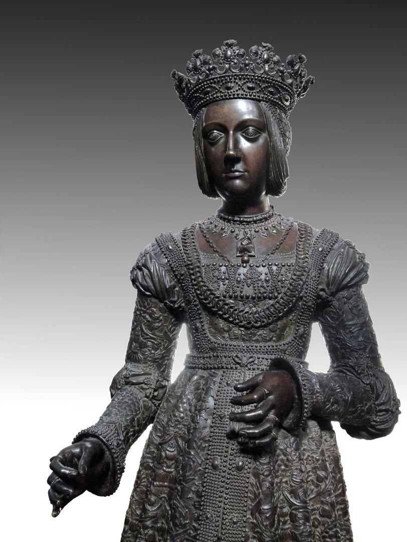Empress Bianca Maria Sforza (Innsbruck) Upper half of the statue
