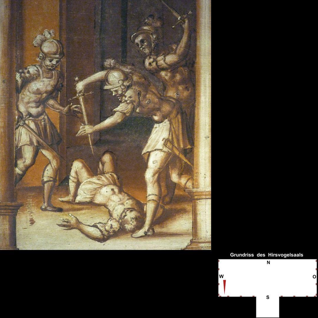 Cäsarenzyklus Vitenszene zu Gaius,genannt Caligula: Ermordung