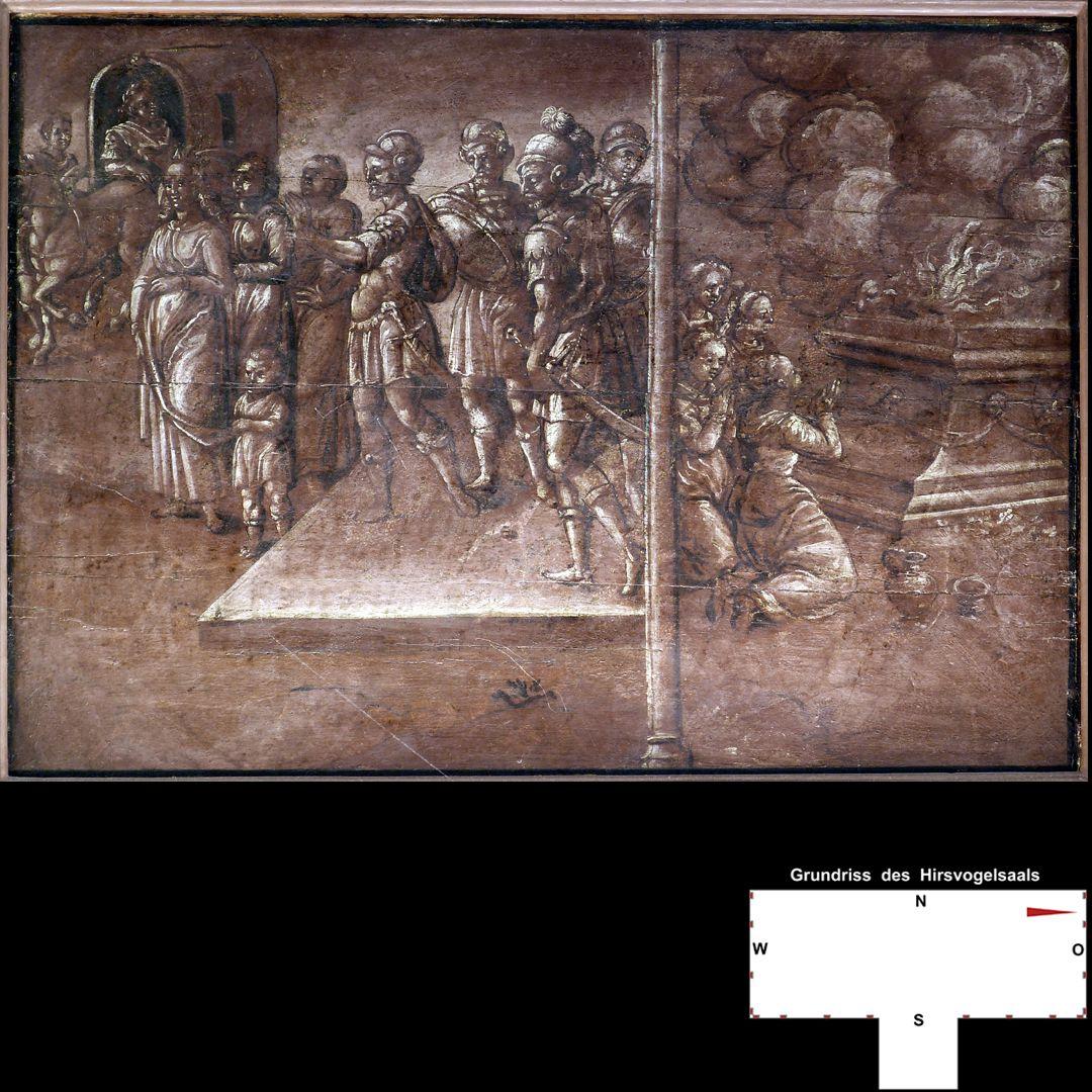 Cäsarenzyklus Vitenszene zu Titus: Gesamt