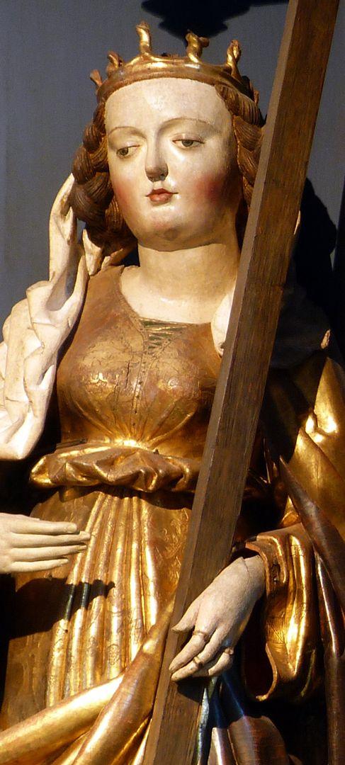 Katharinenretabel des Levinus Memminger St. Helena, Detail