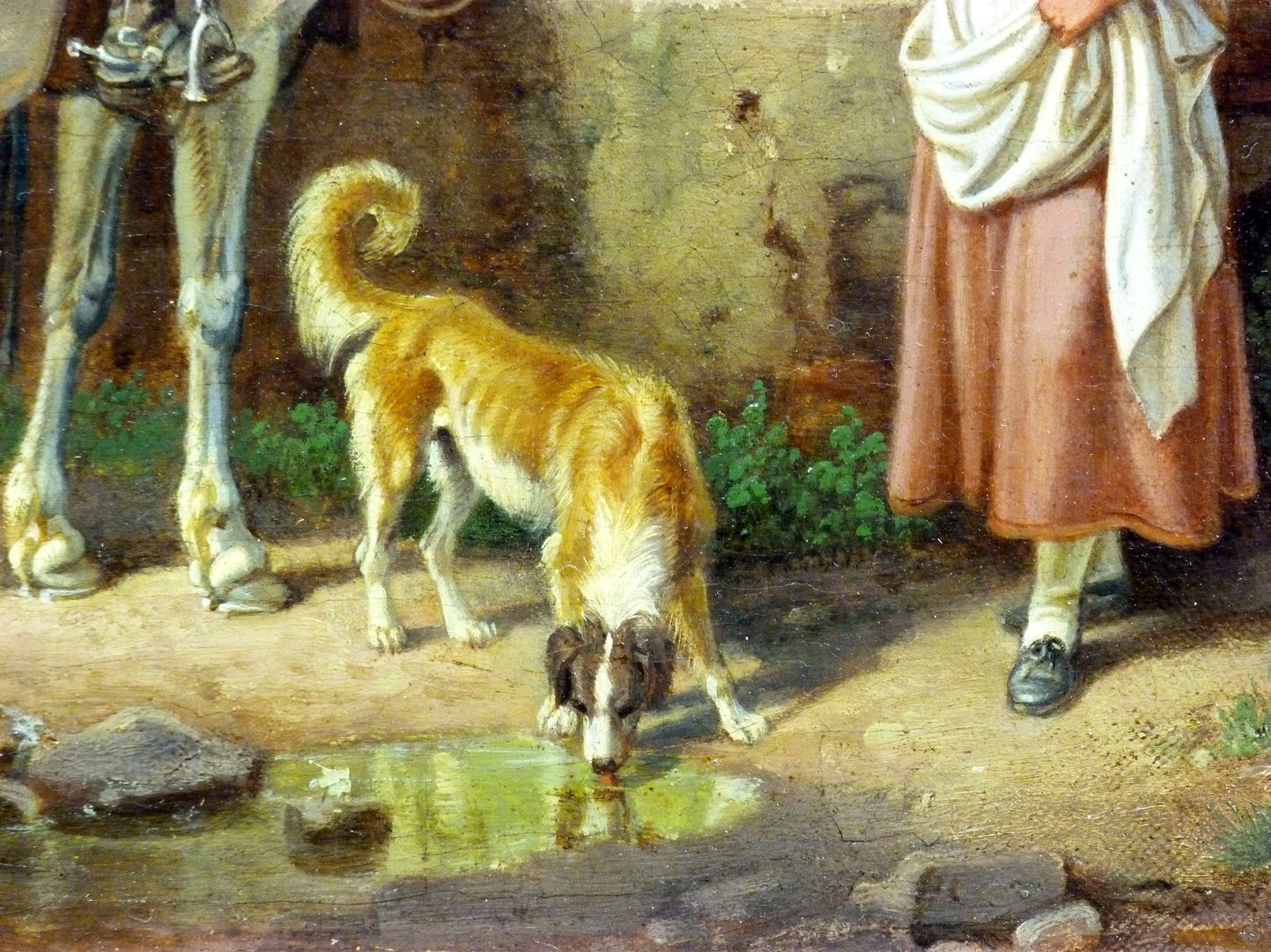 Roman carters Detail, dog