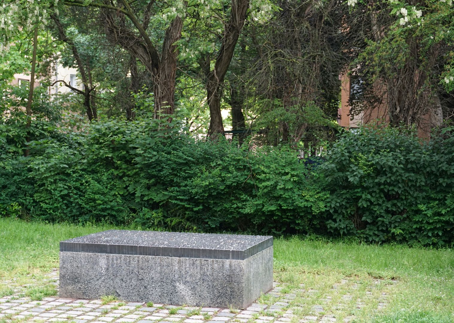 Anton Koberger / Memorial Stone View from the east