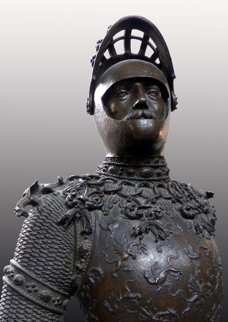 King Arthur (Innsbruck) Bust