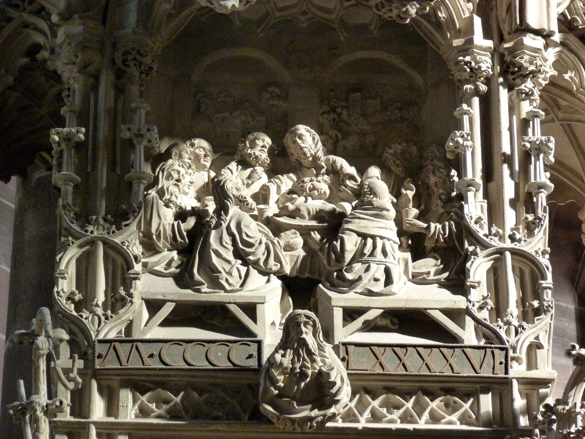 Tabernacle The Last Supper