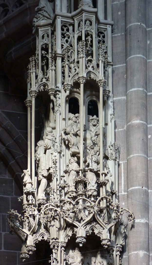 Tabernacle Pinnacle decoration: Level with the derision of Christ
