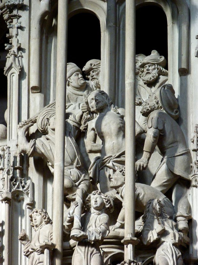 Tabernacle Pinnacle decoration: Flagellation
