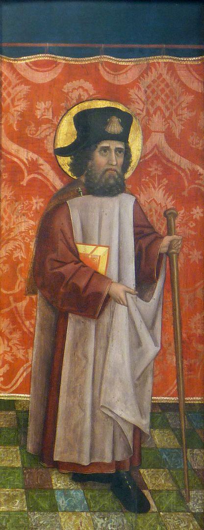 Krell-Altar linke innere Seitentafel mit St. Jodocus
