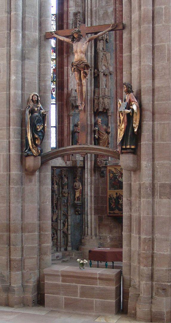 Crucifixus Crucifixion group
