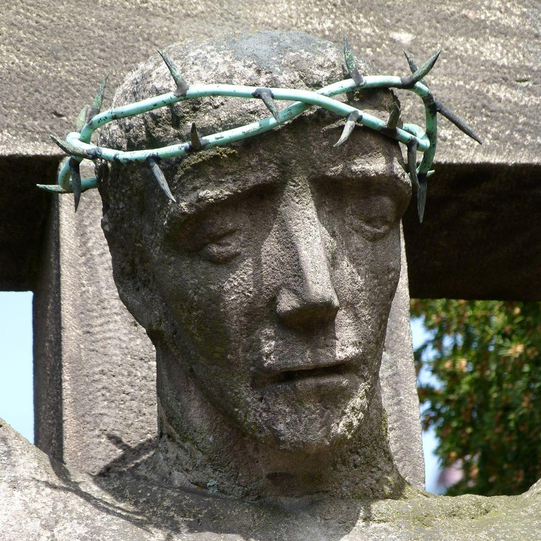 Christ on the Cross Christ´s head