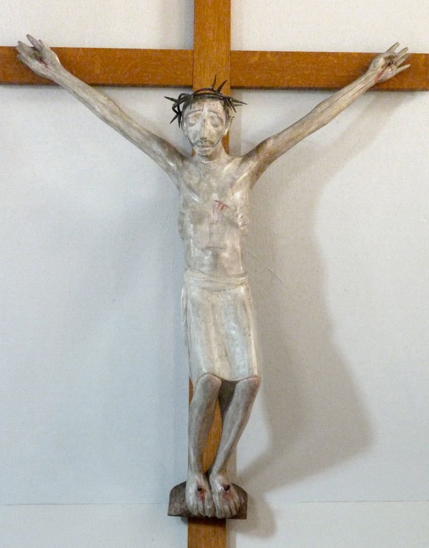 Christ on the Cross Front view
