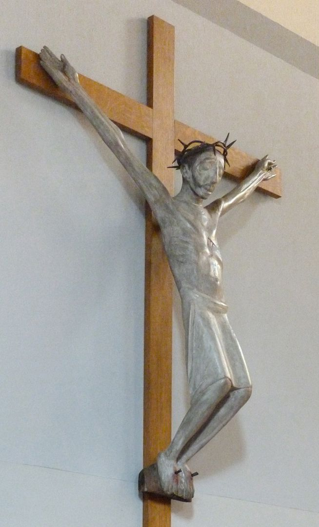 Christ on the Cross Lateral view from the left
