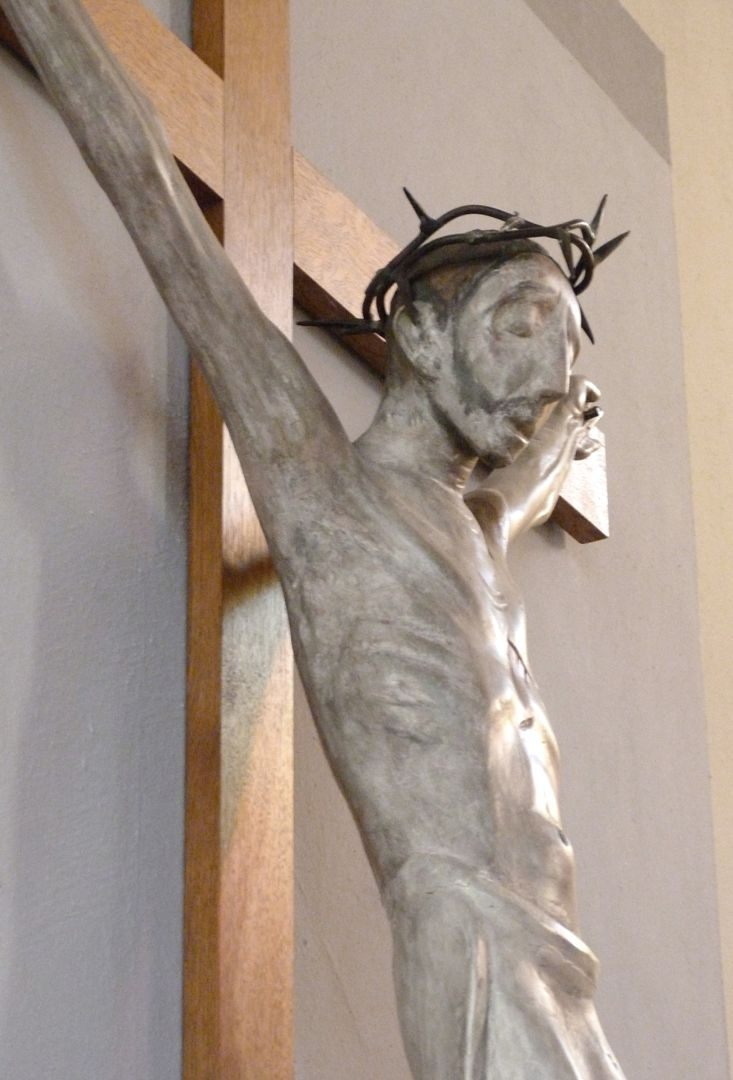 Christ on the Cross Upper part of the body