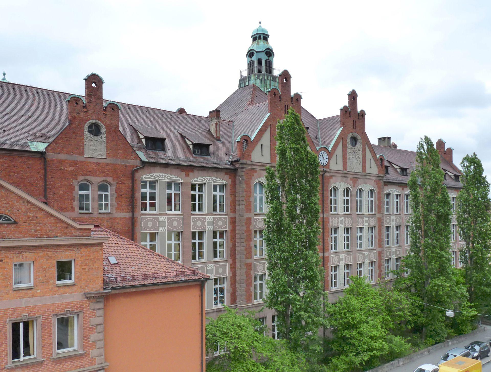 Dr. Theo-Schöller-School Main front