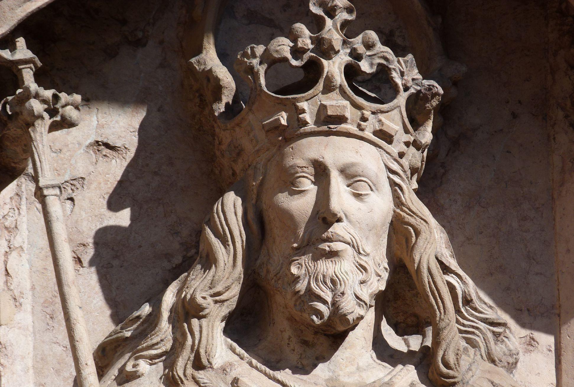 Epitaph of Kunz Horn Christ, head
