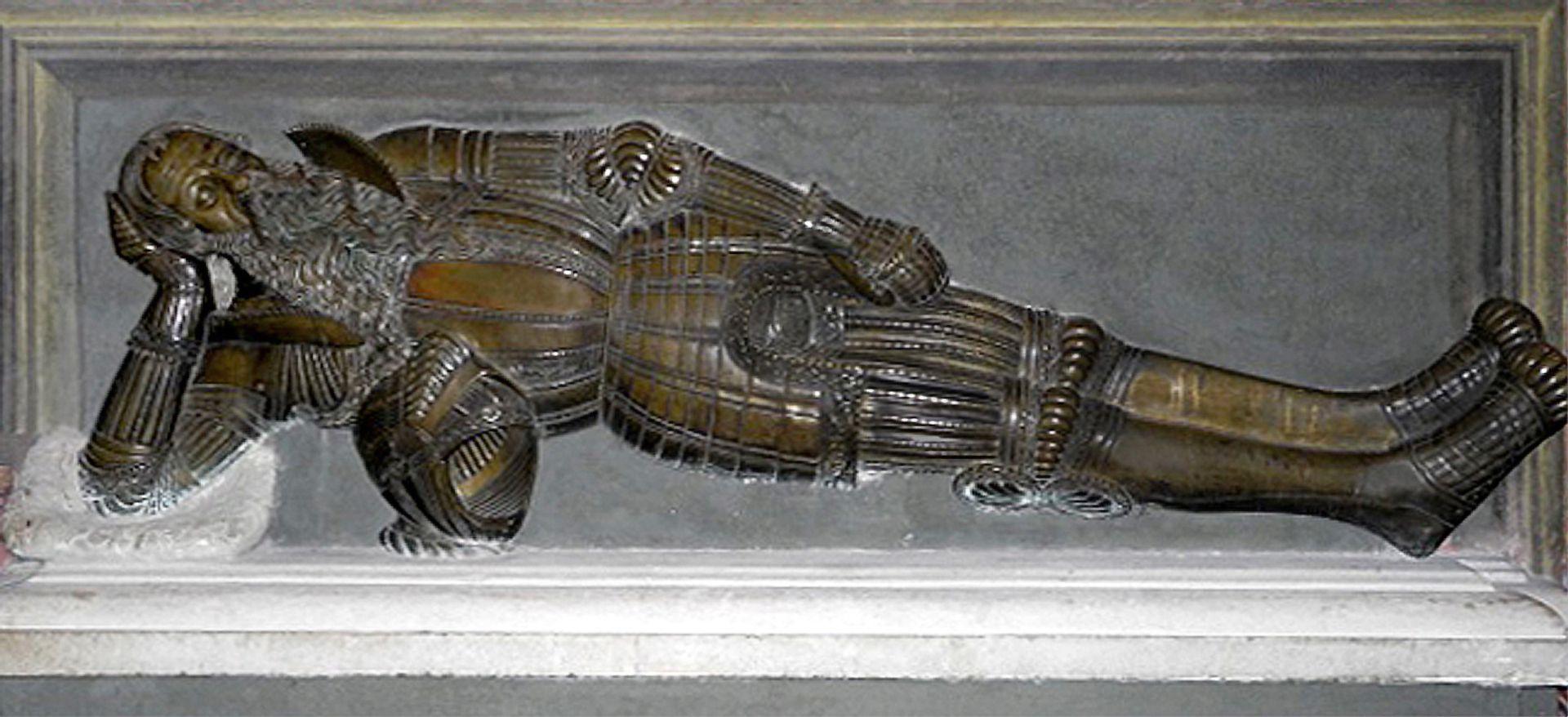Tomb figure of Nicolaus Herburt-Odnowski (Lemberg, Ukraine) Lying figure