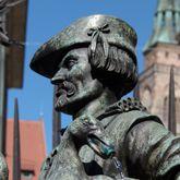 Gänsemännlein-Fountain (Little man with geese-Fountain)