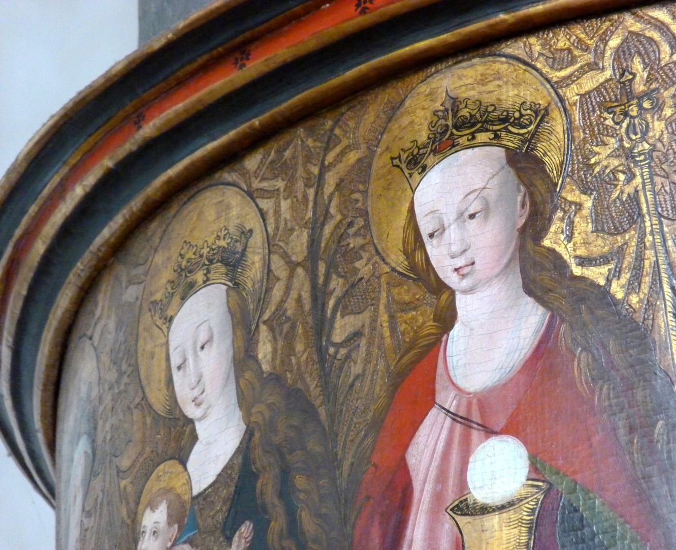 Lehenmaier Epitaph Maria und Barbara