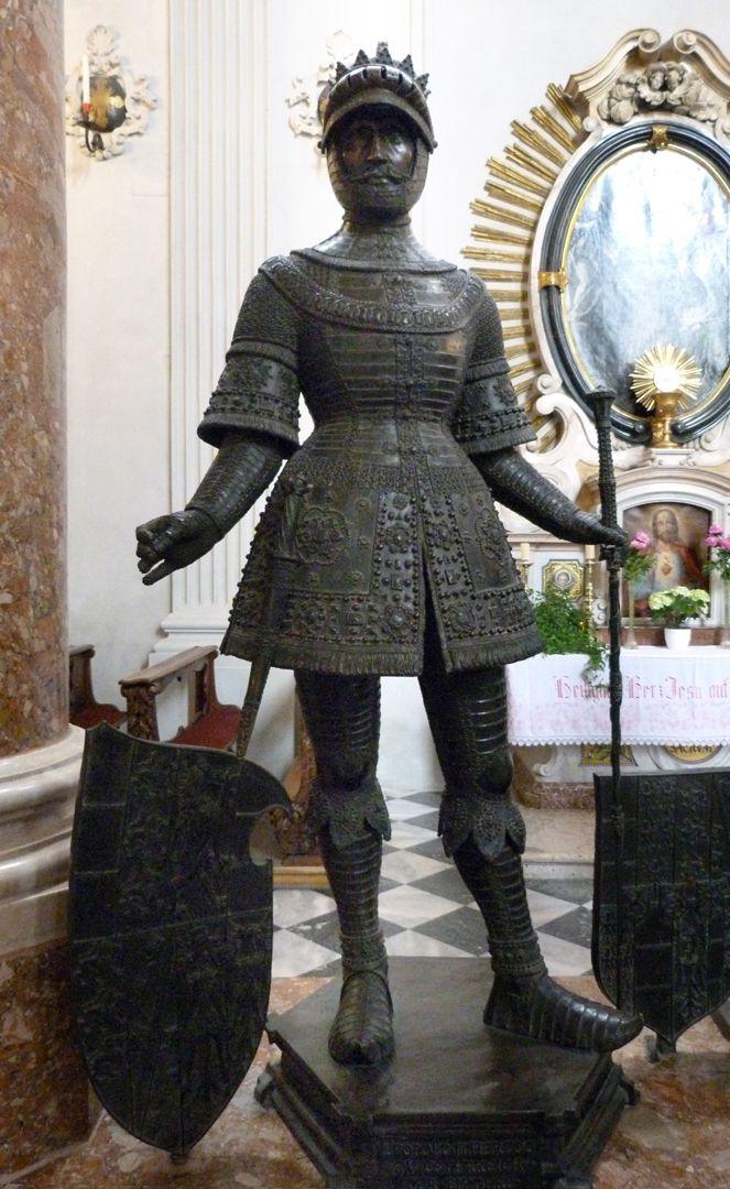 Herzog Leopold II. (Der Fromme) (Innsbruck) Frontalansicht