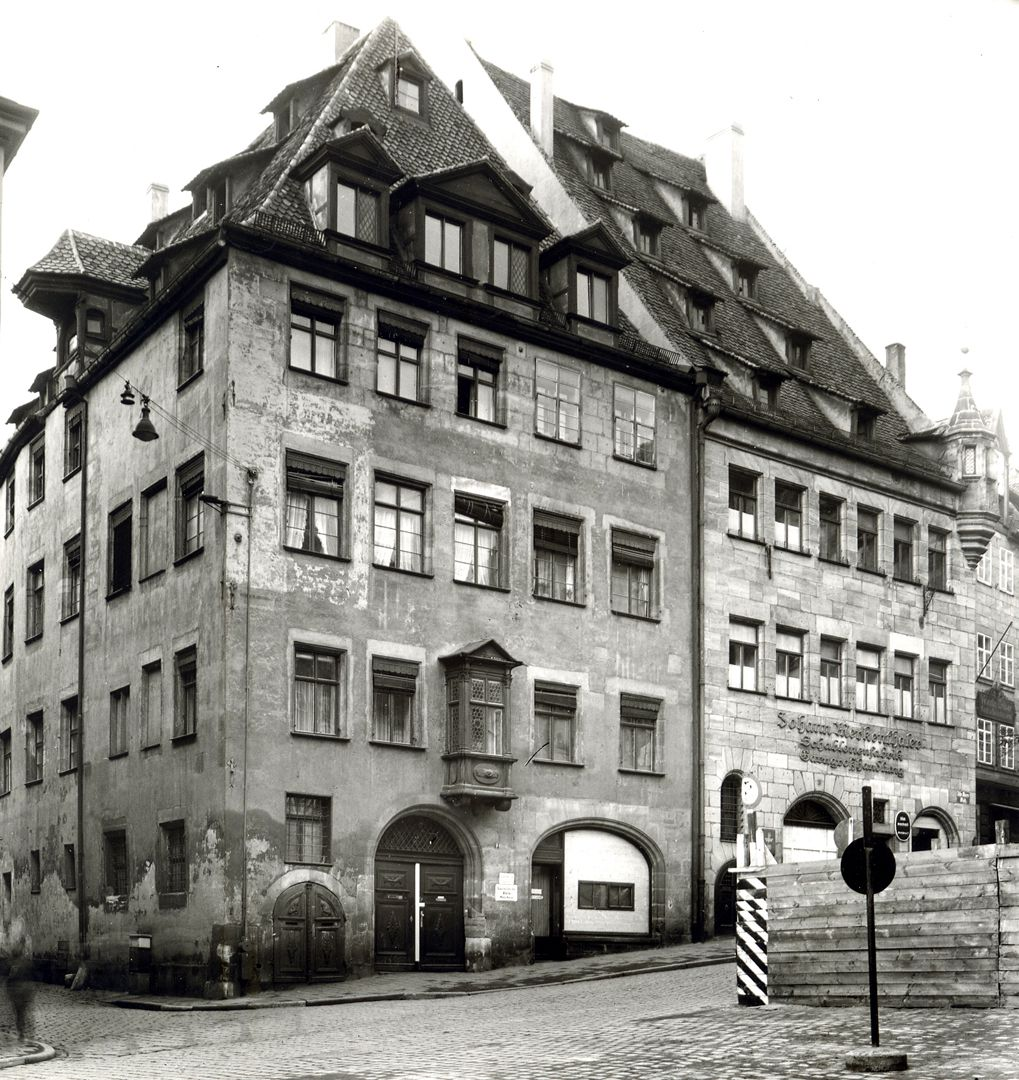 Medical centre historical view