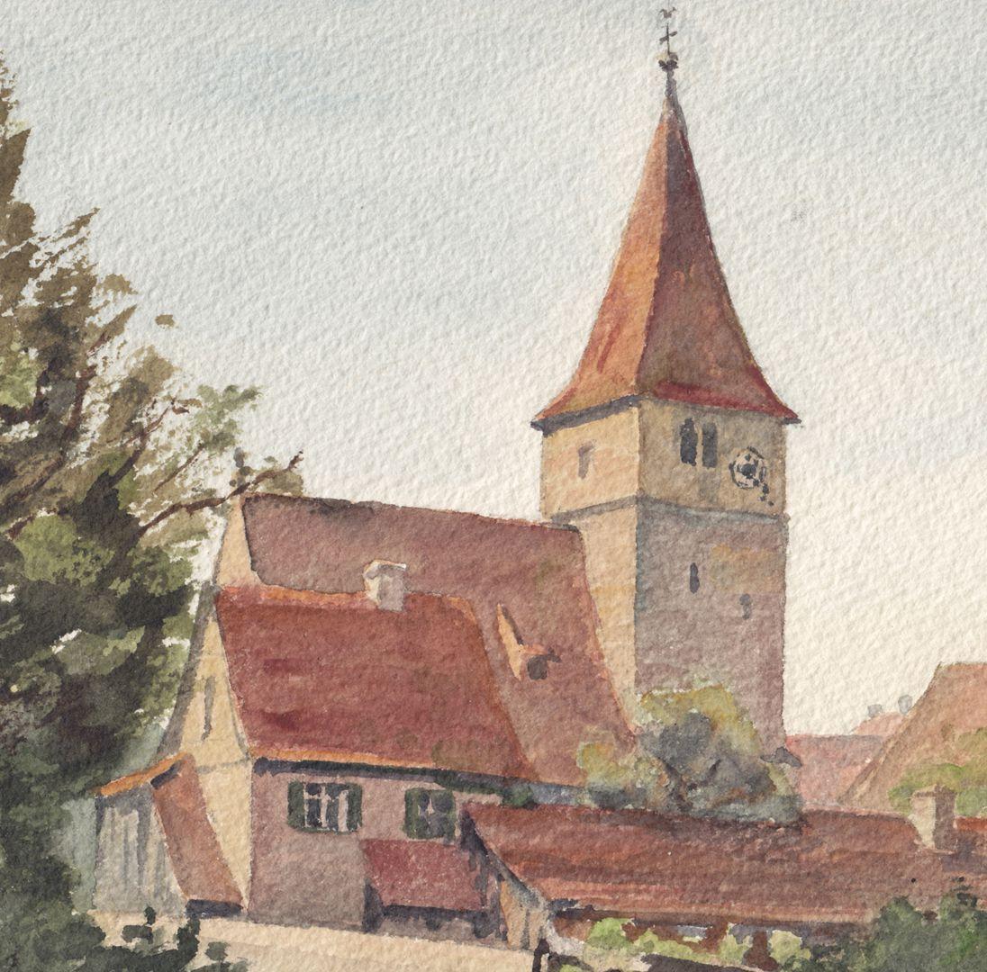 Katzwang near Nuremberg Detail
