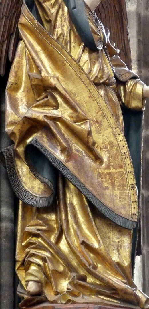 Archangel Michael Drapery in the profile