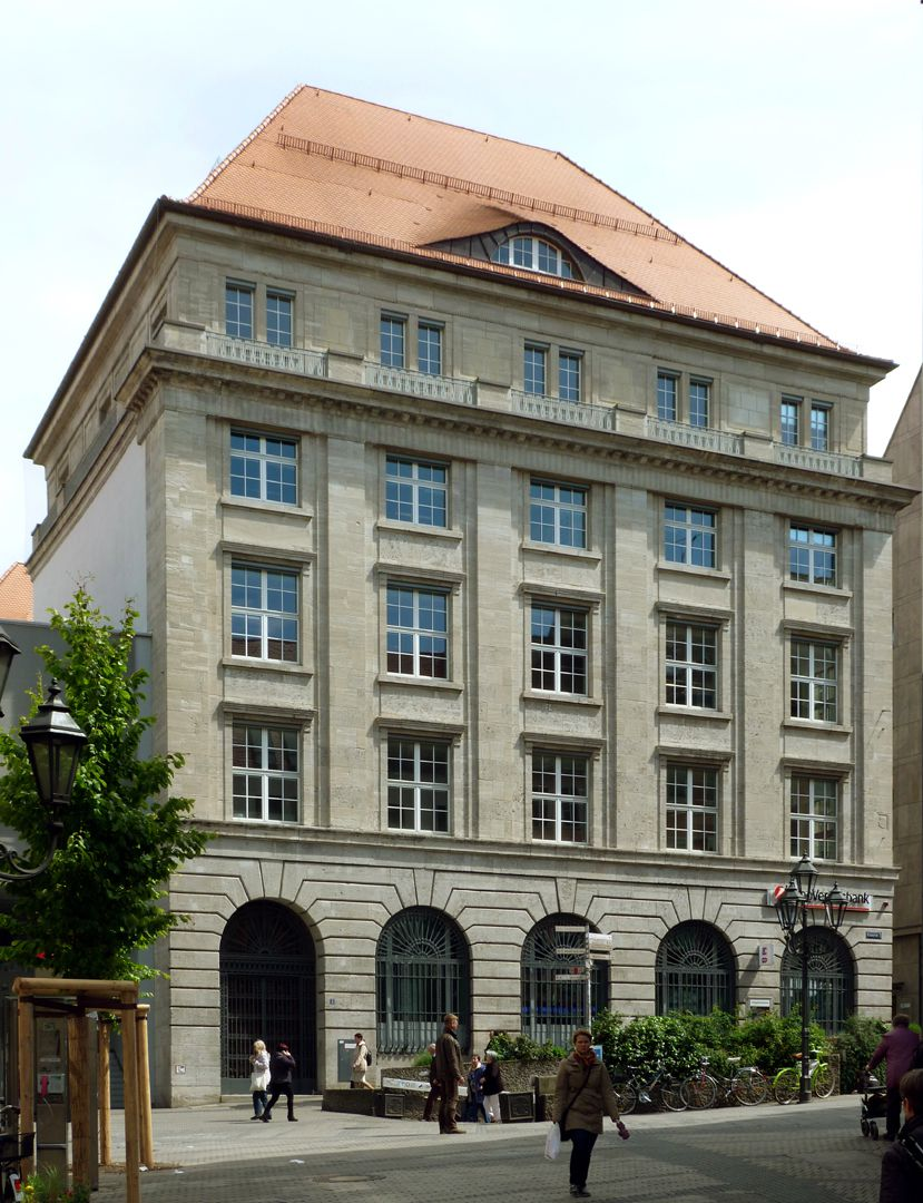 Bavarian Discount and Exchange Bank Front