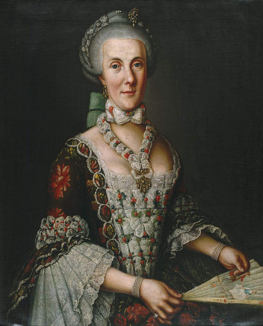 Portrait of Magdalena Barbara von Hailbronner