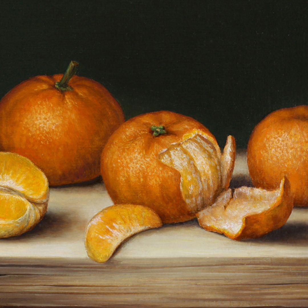 Mandarin oranges Detailed view