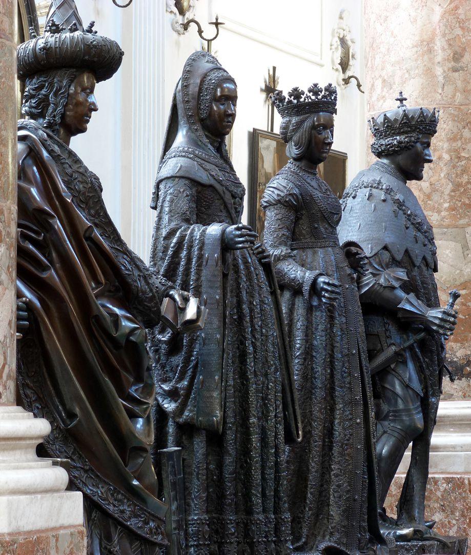 Margret of Austria (Innsbruck) Group of four: second from the left Margaret of Austria