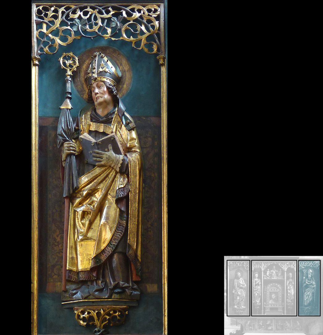 Marthaaltar Bischof Fronto von Périgueux ?