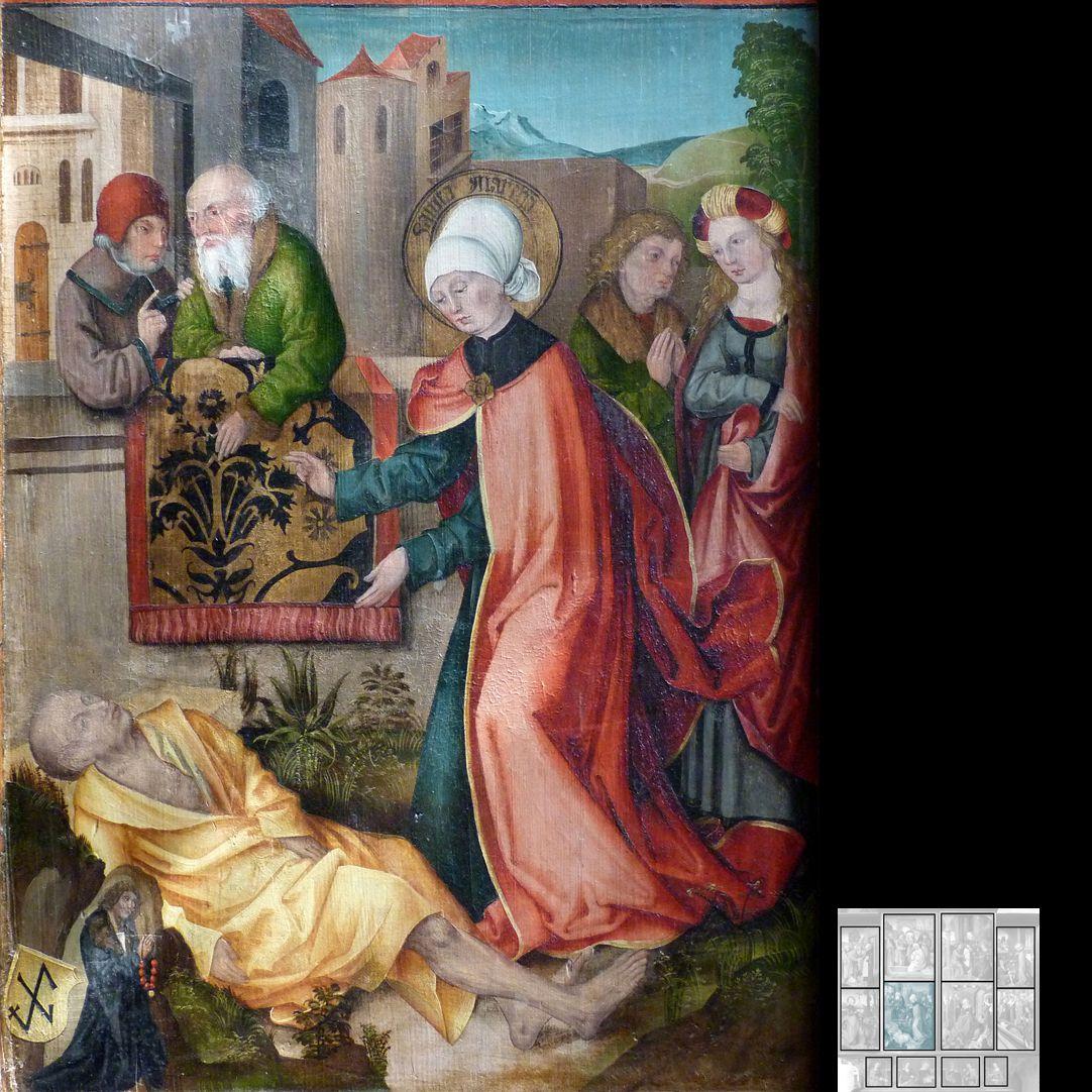 Marthaaltar Das Gleichnis vom reichen Mann und vom armen Lazarus