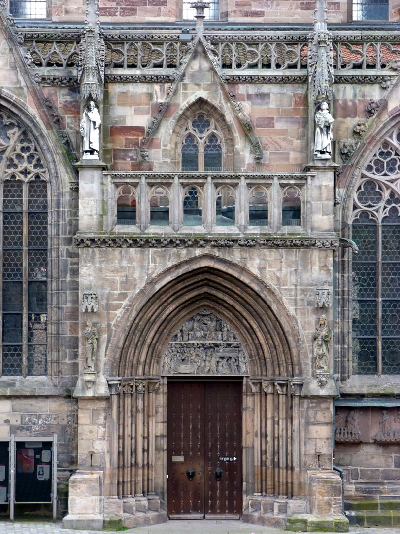 Martin Luther View with north portal