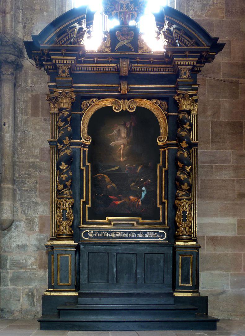 Muffel Altar Altar aedicula