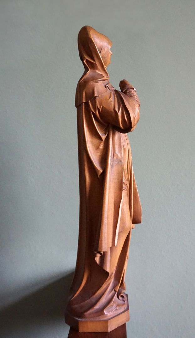 So-called Nuremberg Madonna Right side